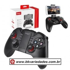Controle Joystick Wireless Bluetooth Ipega PG-9068 preto