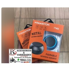 Mini Caixa De Som Speaker Bolinha Potente H'maston Bluetooth