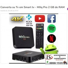 Smart TV Box MX9 Q Pro 8GB RAM 64 GB ARMAZENAMENTO